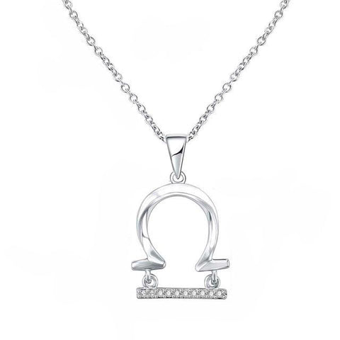 Collier Signe Astrologique Balance