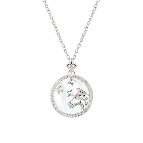 Collier Signe Astrologique Taureau Astral Argt