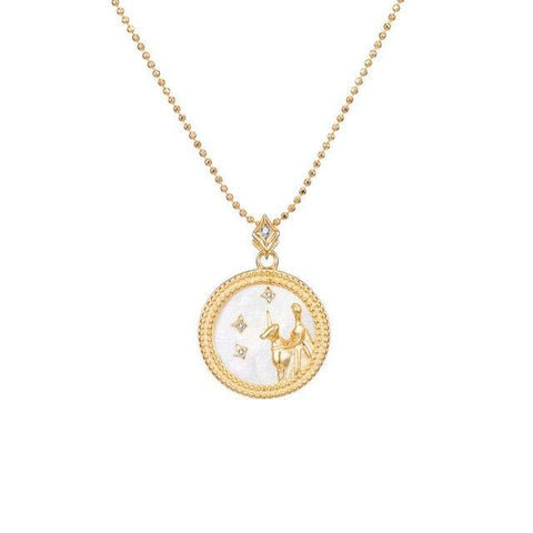 Collier Signe Astrologique Vierge Astral Or