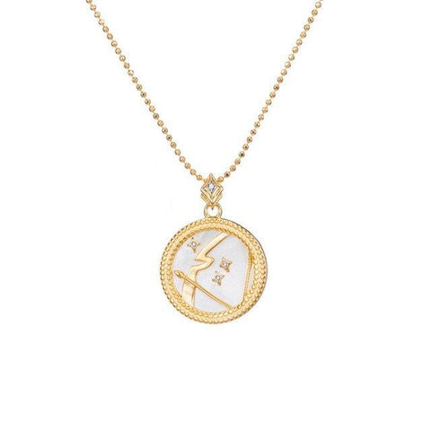 Collier Signe Astrologique Sagittaire Astral Or