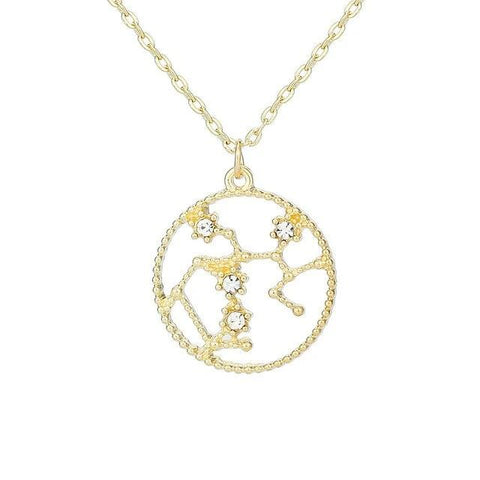 Collier Constellation Sagittaire Rond