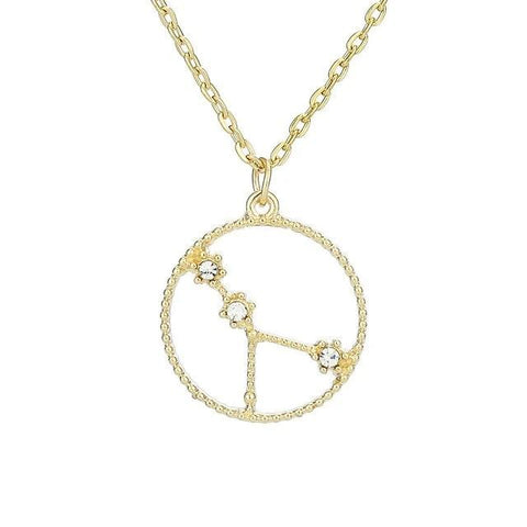 Collier Constellation Cancer Rond