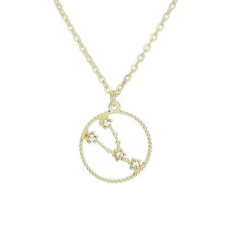 Collier Constellation Taureau Rond