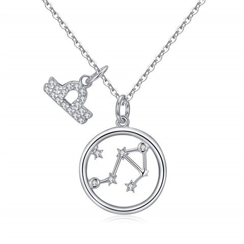 Collier Signe Astrologique Balance Double