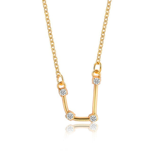 Collier Constellation Verseau Or