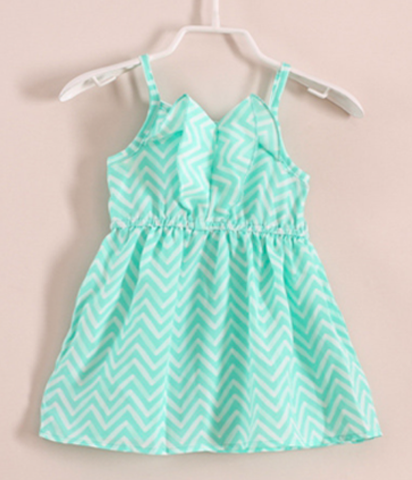 Little Chevron Mini Dress - Posh Peyton