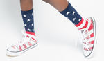 America The Great Crew Socks - Posh Peyton