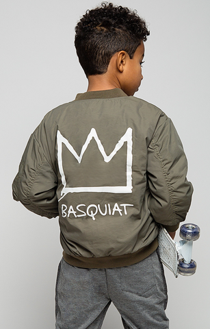Basquit Iconic Bomber Jacket - Posh Peyton