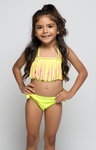 Cali Color Fringe Swim Suit - Posh Peyton