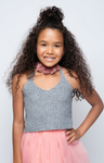 Cami Doll Knit CropTop - Posh Peyton