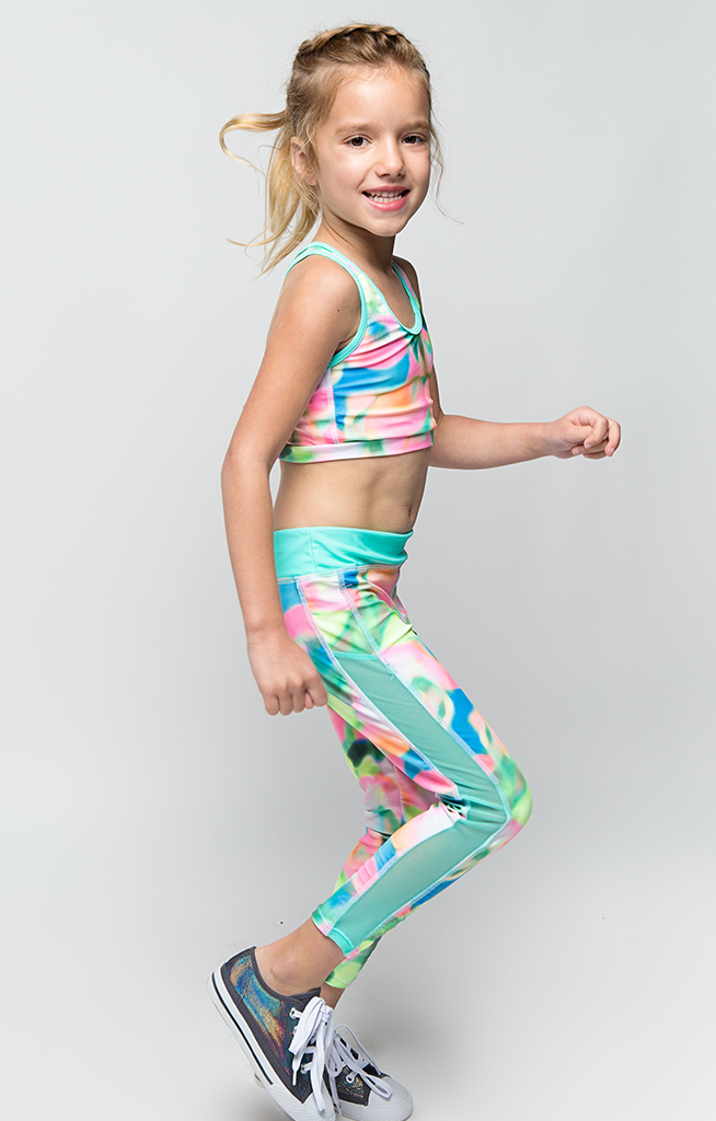 Color Pop Active Wear Set