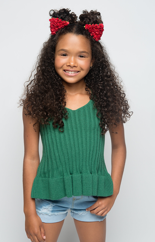 Go Green Knit Tank - Posh Peyton