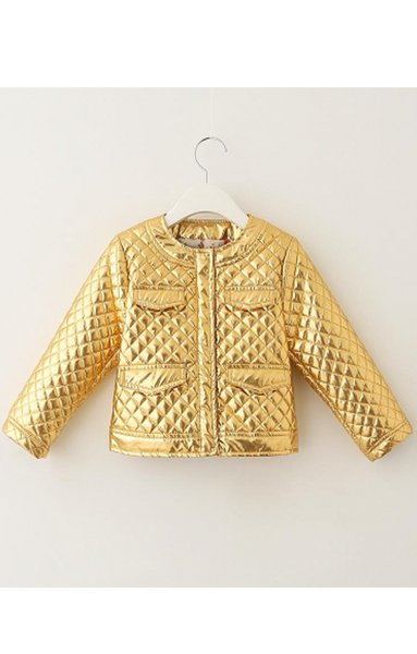 Gold Member Quilted Jacket