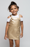 Gold Mine Jumper Dress - Posh Peyton