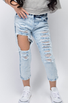 High Tide Distressed Jeans - Posh Peyton
