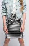 Line Up Striped Pencil Skirt - Posh Peyton