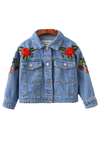 London Rose Denim Jacket - Posh Peyton