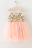 Never Tulle Much Sequin Dress - Posh Peyton