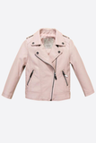 Pink Panther Leather Bomber - Posh Peyton