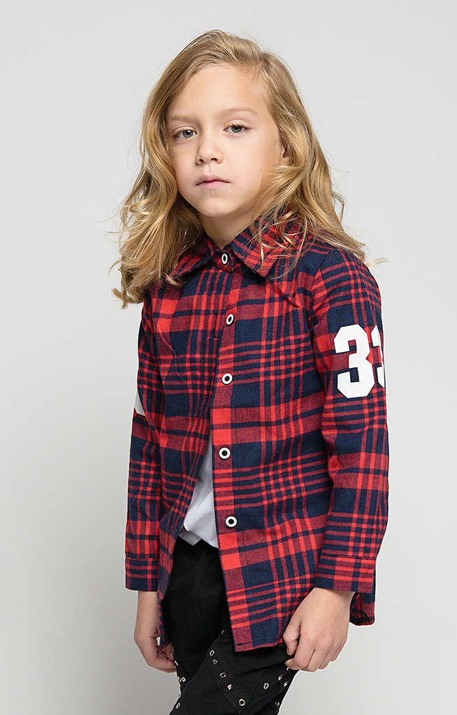 Plaid Influence Flannel Shirt