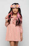 Ruffle & Flow Blush Dress - Posh Peyton