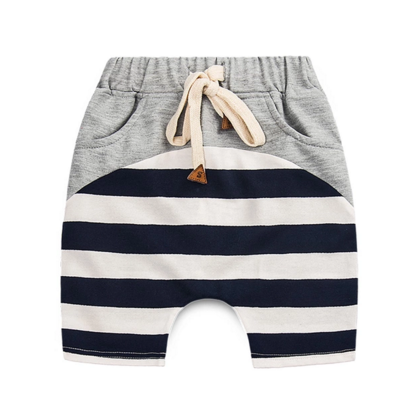 Between The Lines Drawstring Shorts