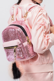 Throw Glitter On Em' Mini Backpack - Posh Peyton