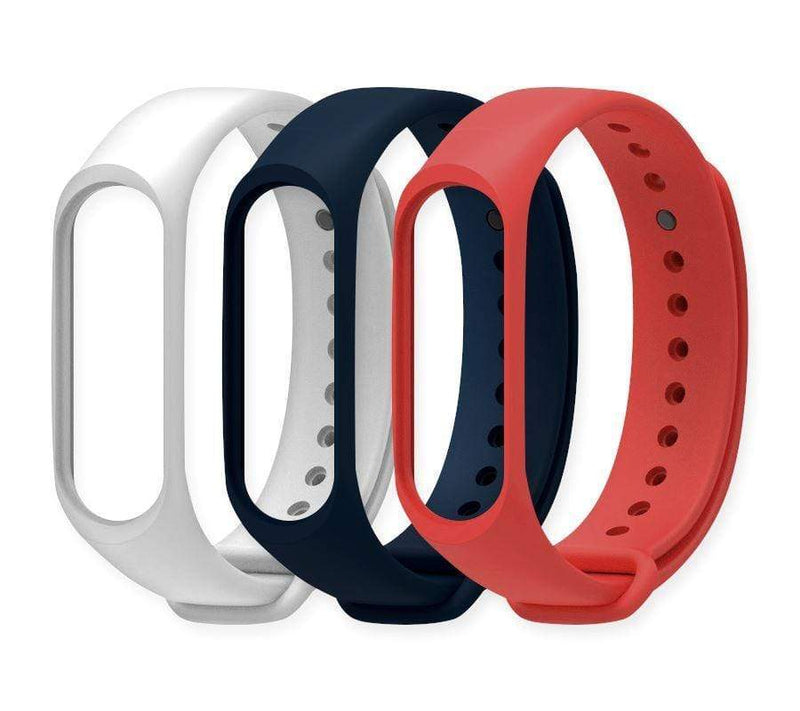 Smarter Fitness 3-Pack Extra Color Bands (Red/White/Blue)