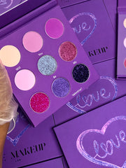 Private Label Build Your Own 9 Color Eyeshadow Palette