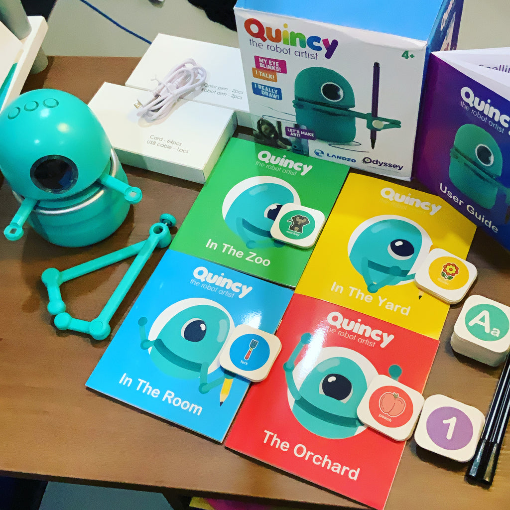 Quincy Artist Robot Review