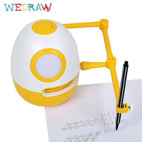 Eggy the Robot Tutor from WEDRAW-PenPalBots