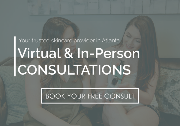 virtual and in person skincare consultations