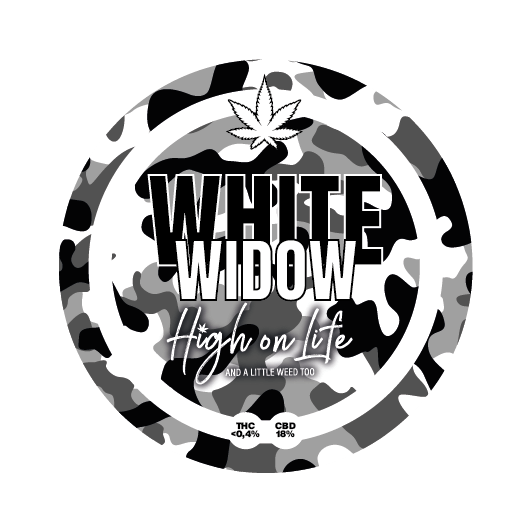 White Widow – CBD 18% - Glass House - Cannabis Light