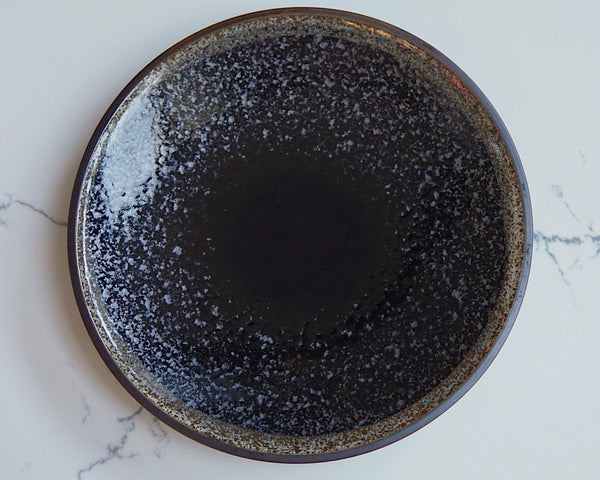 Black speckle plate