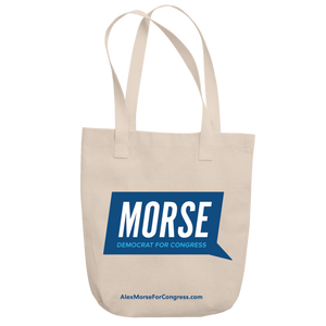 Alex Morse for Congress Logo Tote
