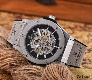 Hublot Mechanical Wristwatches Stainless Steel Strap