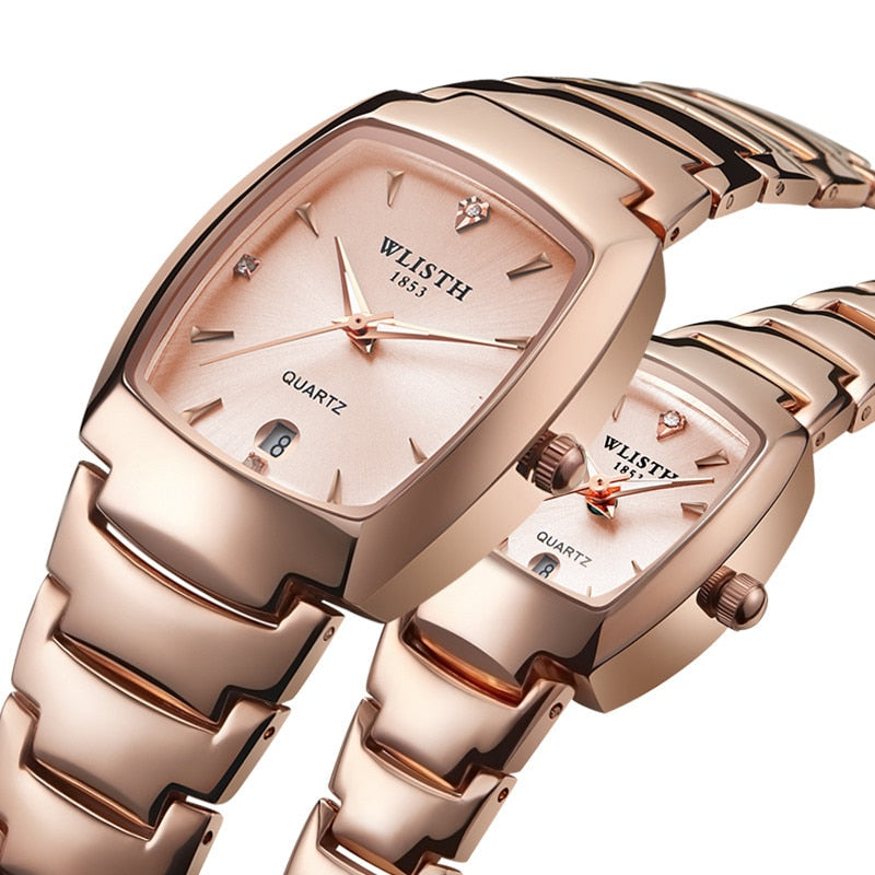 Luxury Quartz Wrist Watch for Men and Women