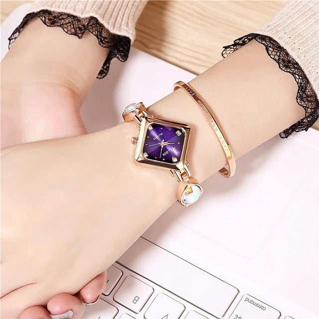 Women Water Diamond Creative Watch