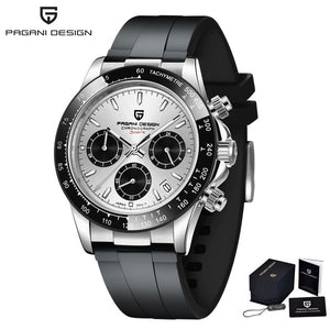 New PAGANI DESIGN Mens Quartz Watch
