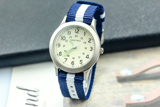 Luminous Hands Quartz Watch