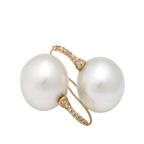 18-20mm south sea pearl earring