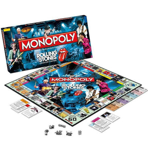 The Rolling Stones | The Rolling Stones Monopoly Board Game | Board Game