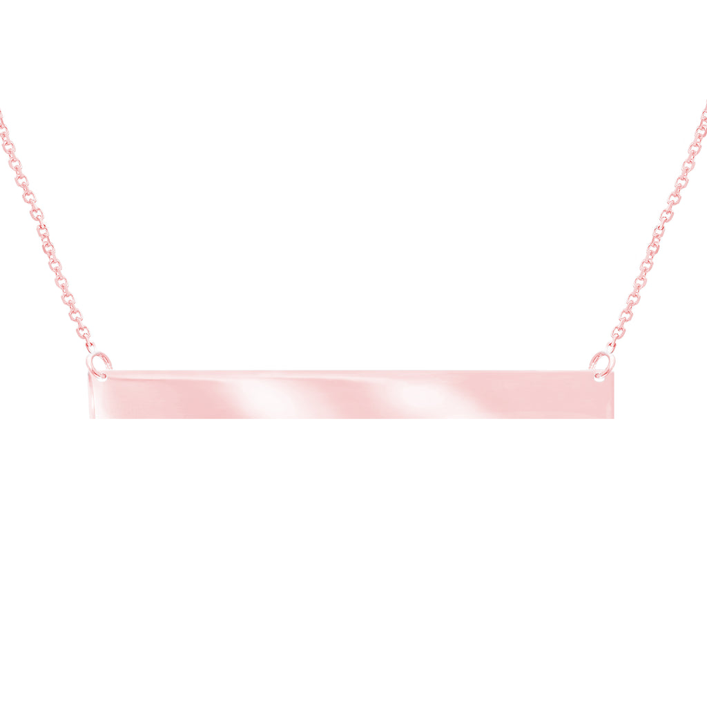 Horizantal Bar Necklace-Necklace-Milano DG