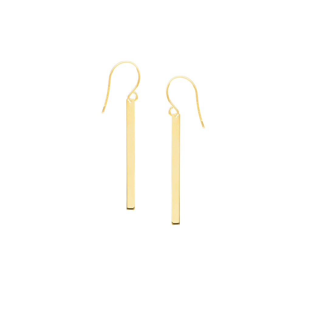 Bar Dangle Earring-Earring-Milano DG