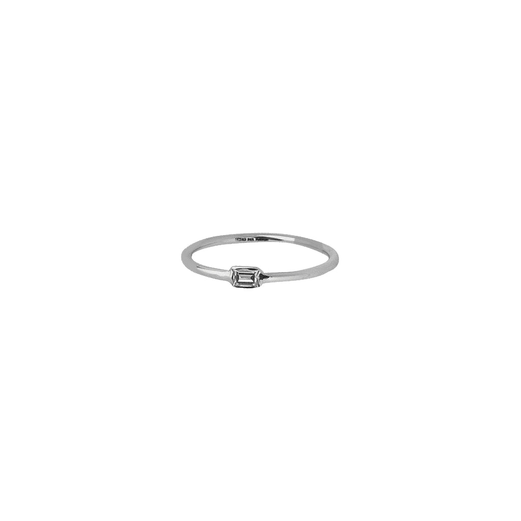 Baguette Diamond Ring-Ring-Milano DG