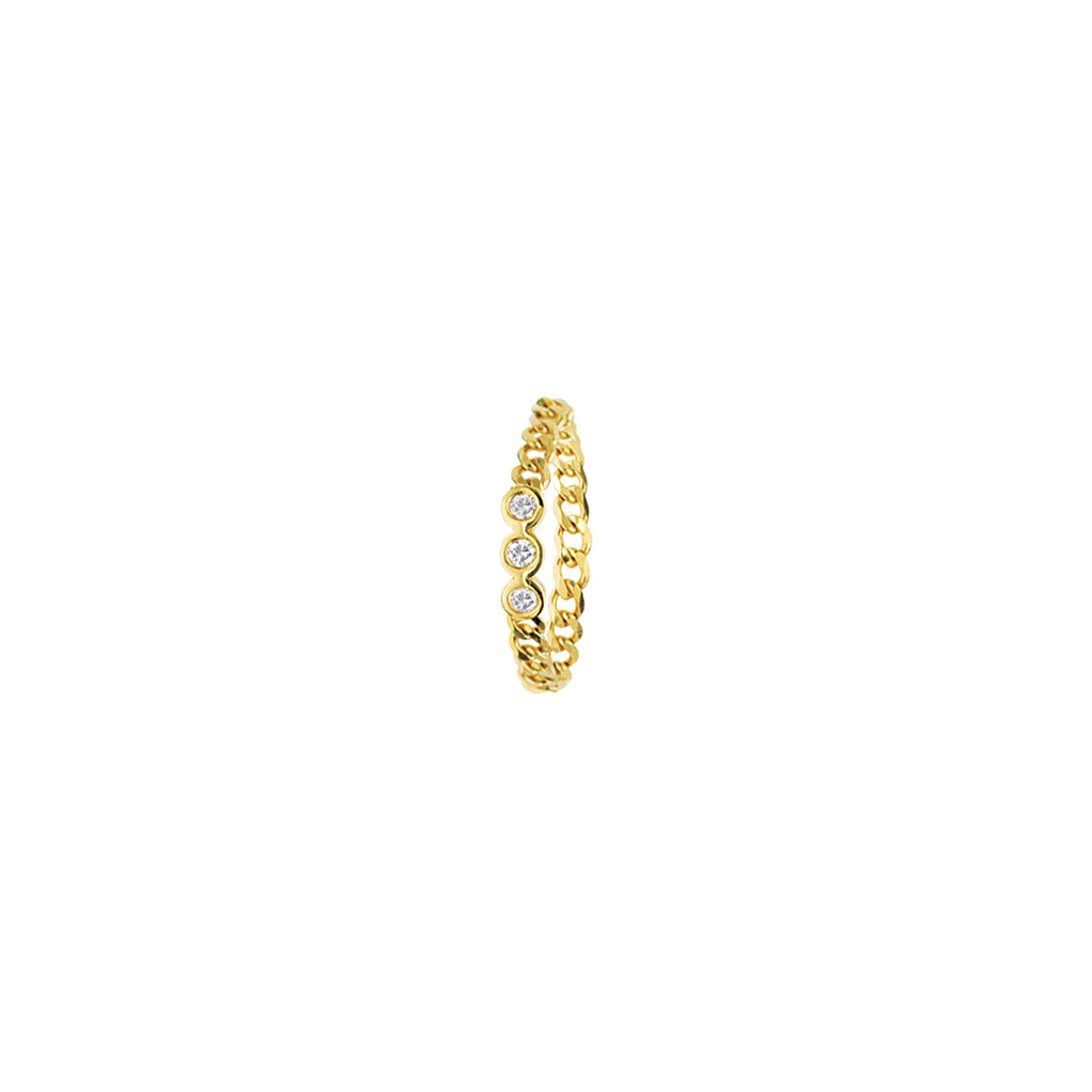 Diamond Chain Ring-Ring-Milano DG