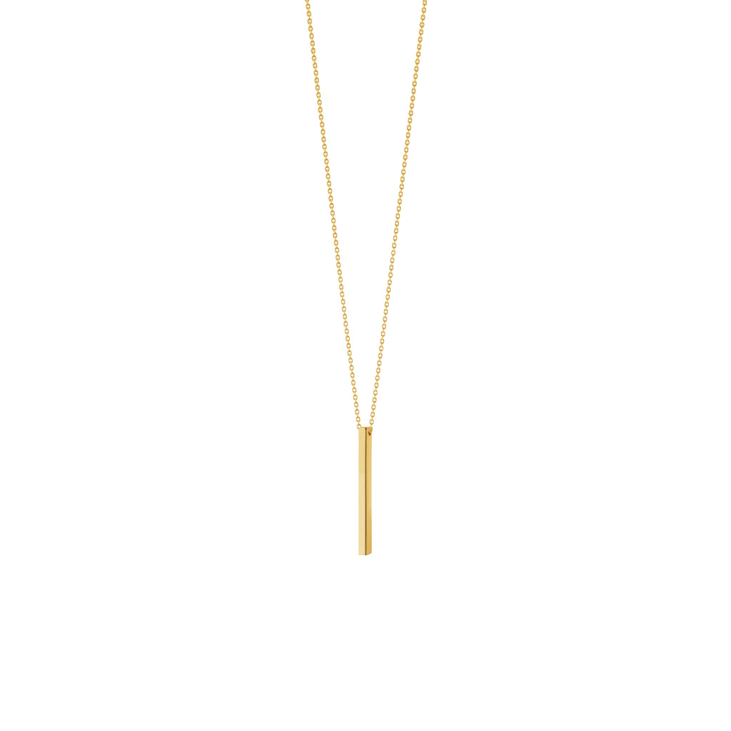 Vertical Bar Necklace-Necklace-Milano DG
