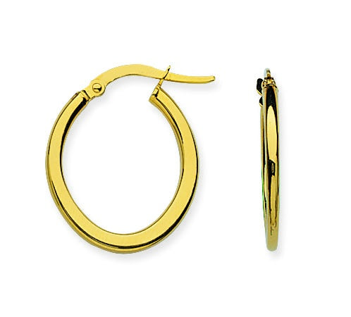 Polished Euro Hoops-Earring-Milano DG