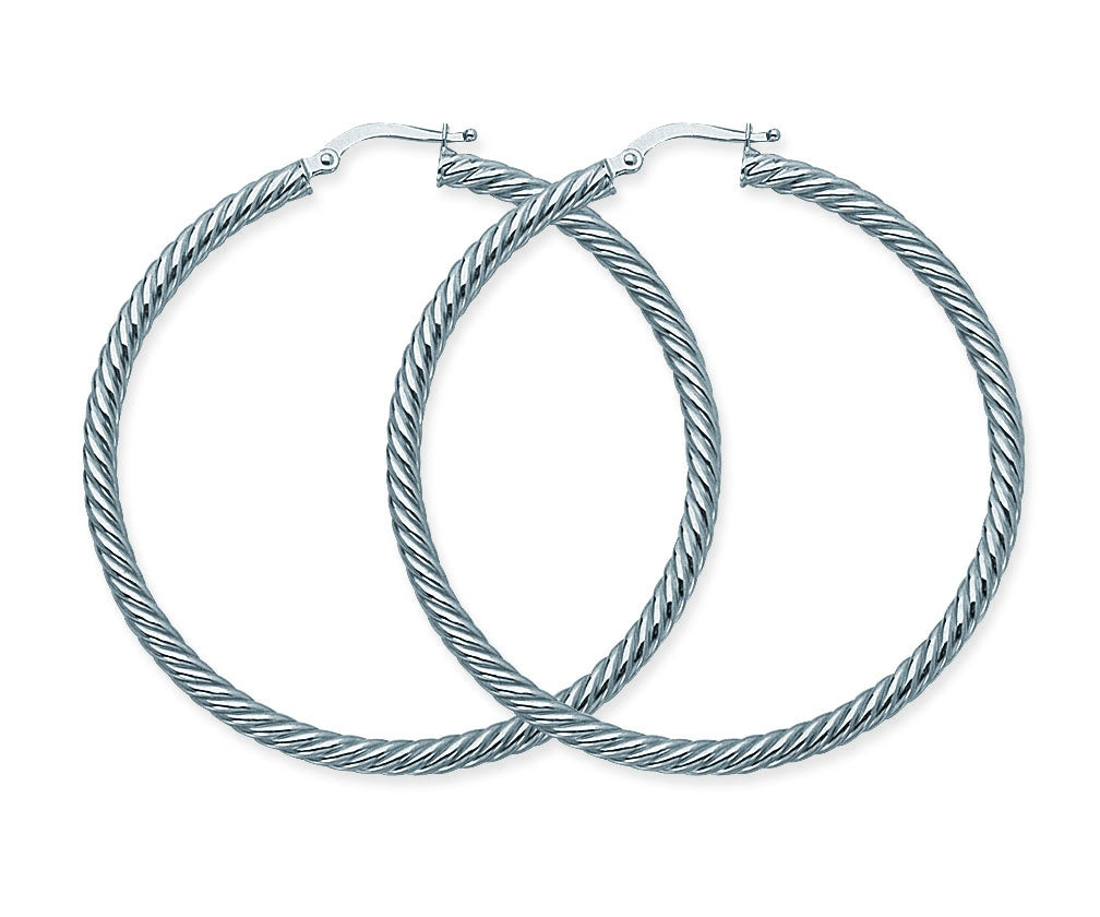 Rope Twist Hoops-Earring-Milano DG