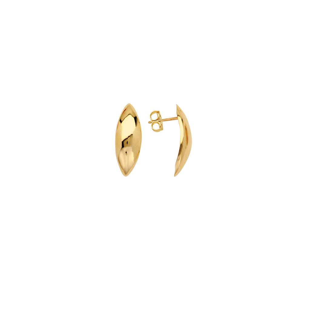 Puffed Marquise Earrings-Milano DG